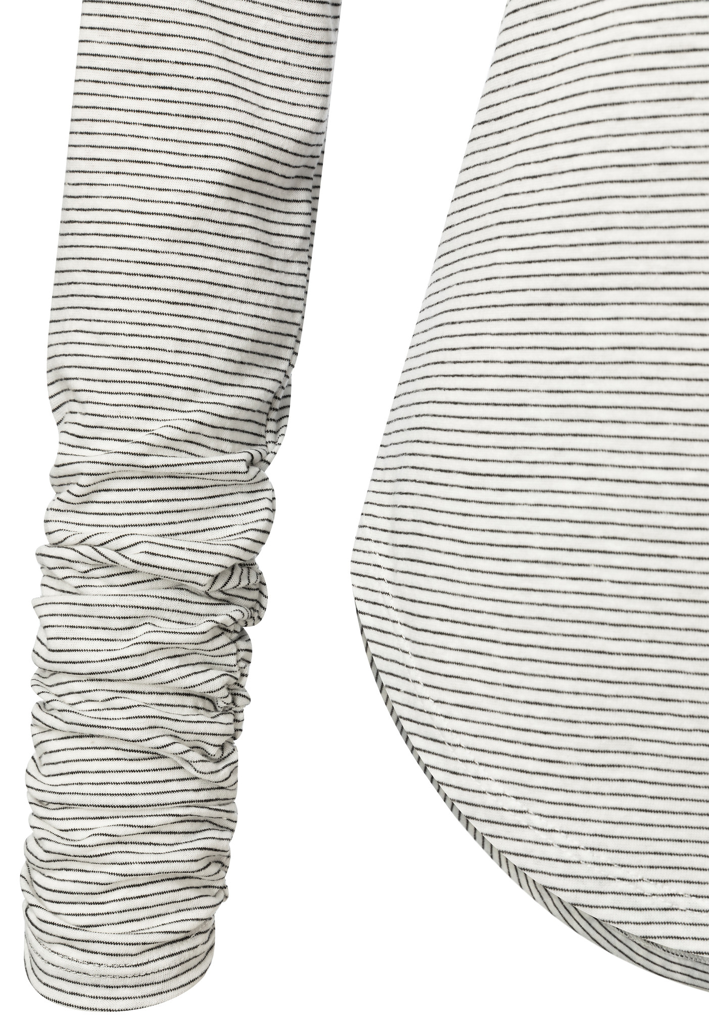 yaya Stripe tee with smoc 1909383-111-3