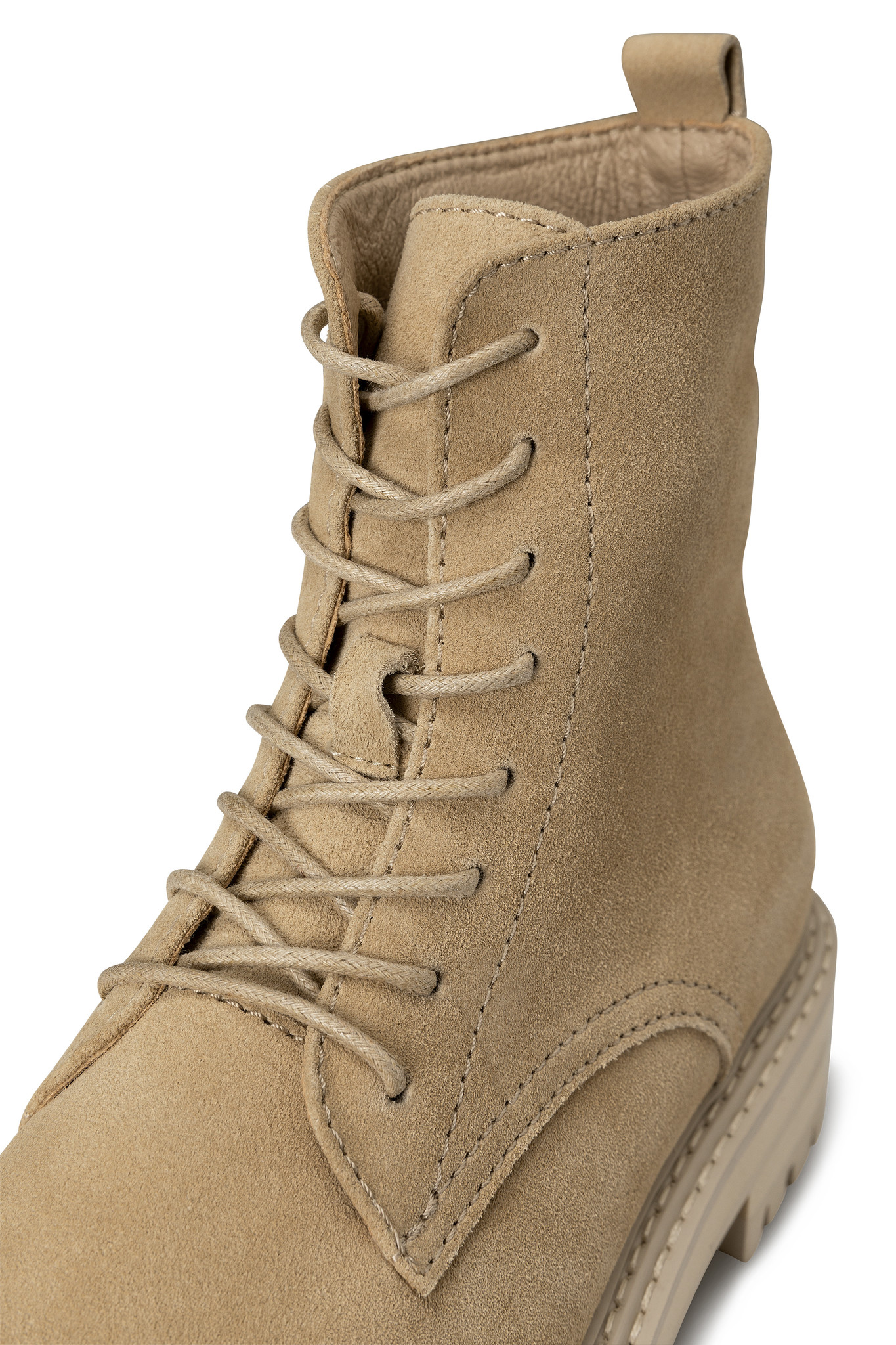 yaya Suede boot with bulk 134377-112-3