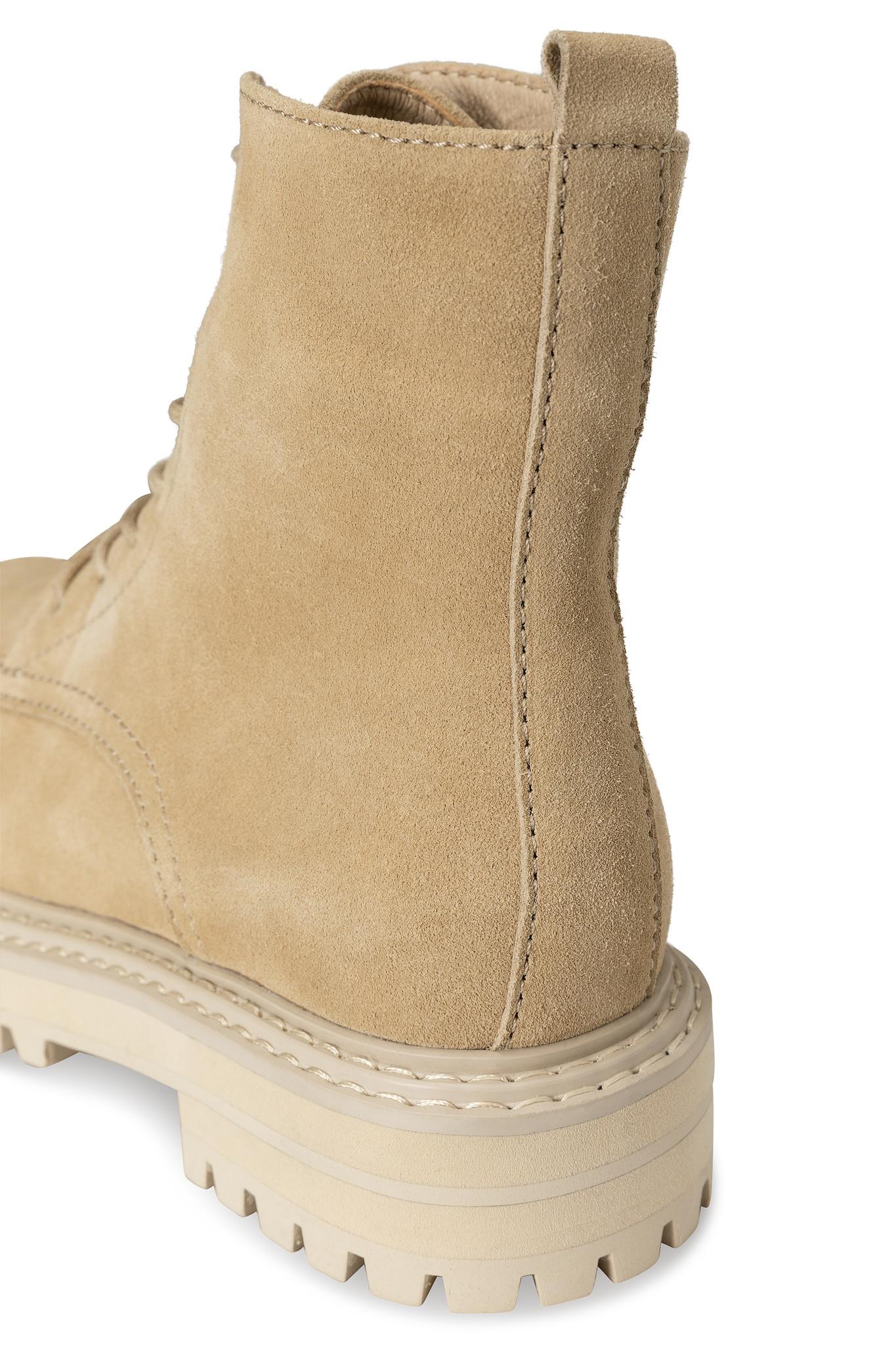yaya Suede boot with bulk 134377-112-4