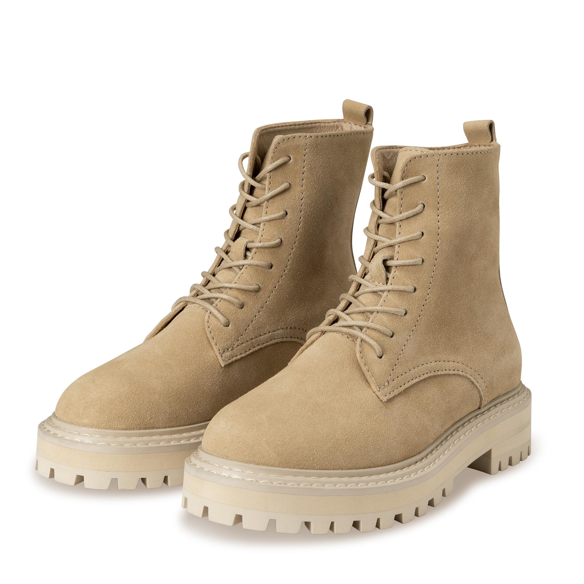 yaya Suede boot with bulk 134377-112-1