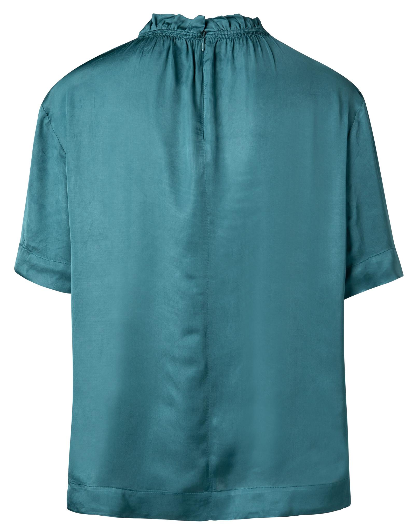 yaya Smocked neckline top 1901393-112-3