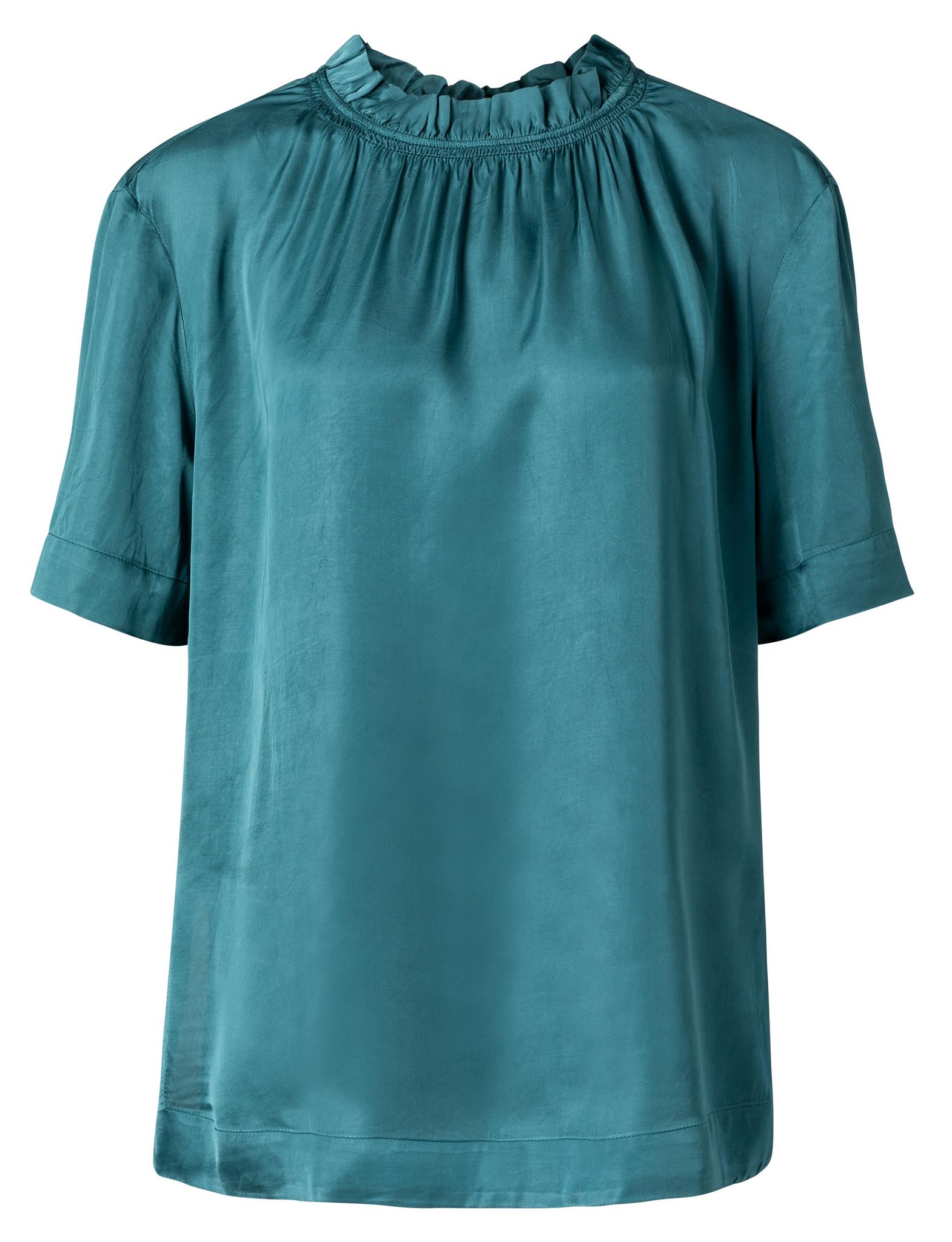 yaya Smocked neckline top 1901393-112-1
