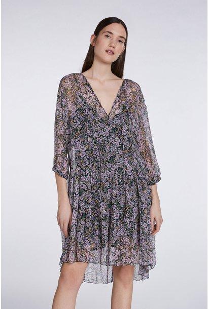 SET Dress 723005010404 Black Violet