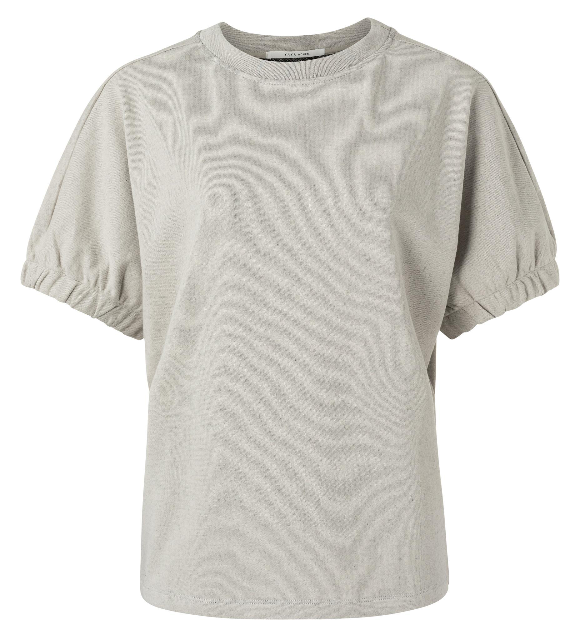yaya Elastic cuff sweater 1009429-113-1