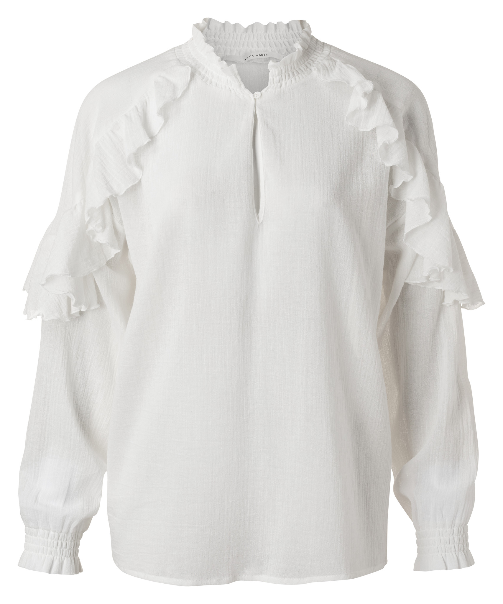 yaya Top with ruffles 1901410-113-1