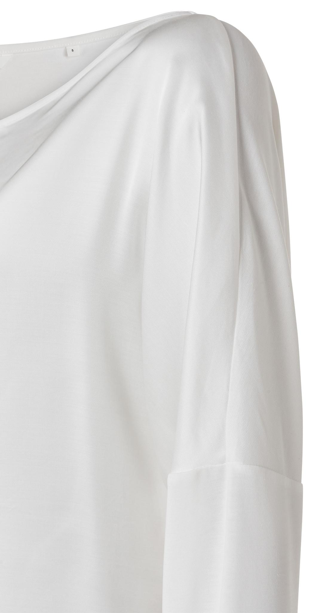 yaya Fabric mix top longs 1901397-112-2