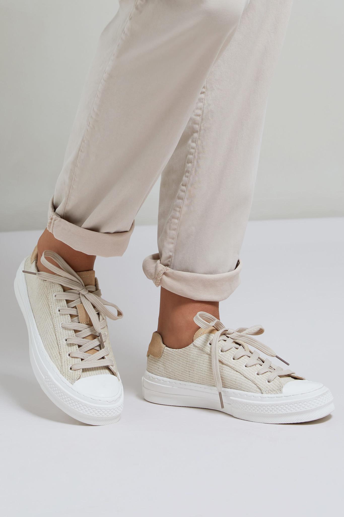 yaya Jacquard sneaker 134374-113-5