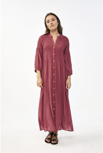 By Bar Dress 21217012 LOULOU Bright Plum