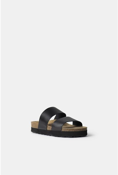 Redesigned slippers 4712 AREE Black