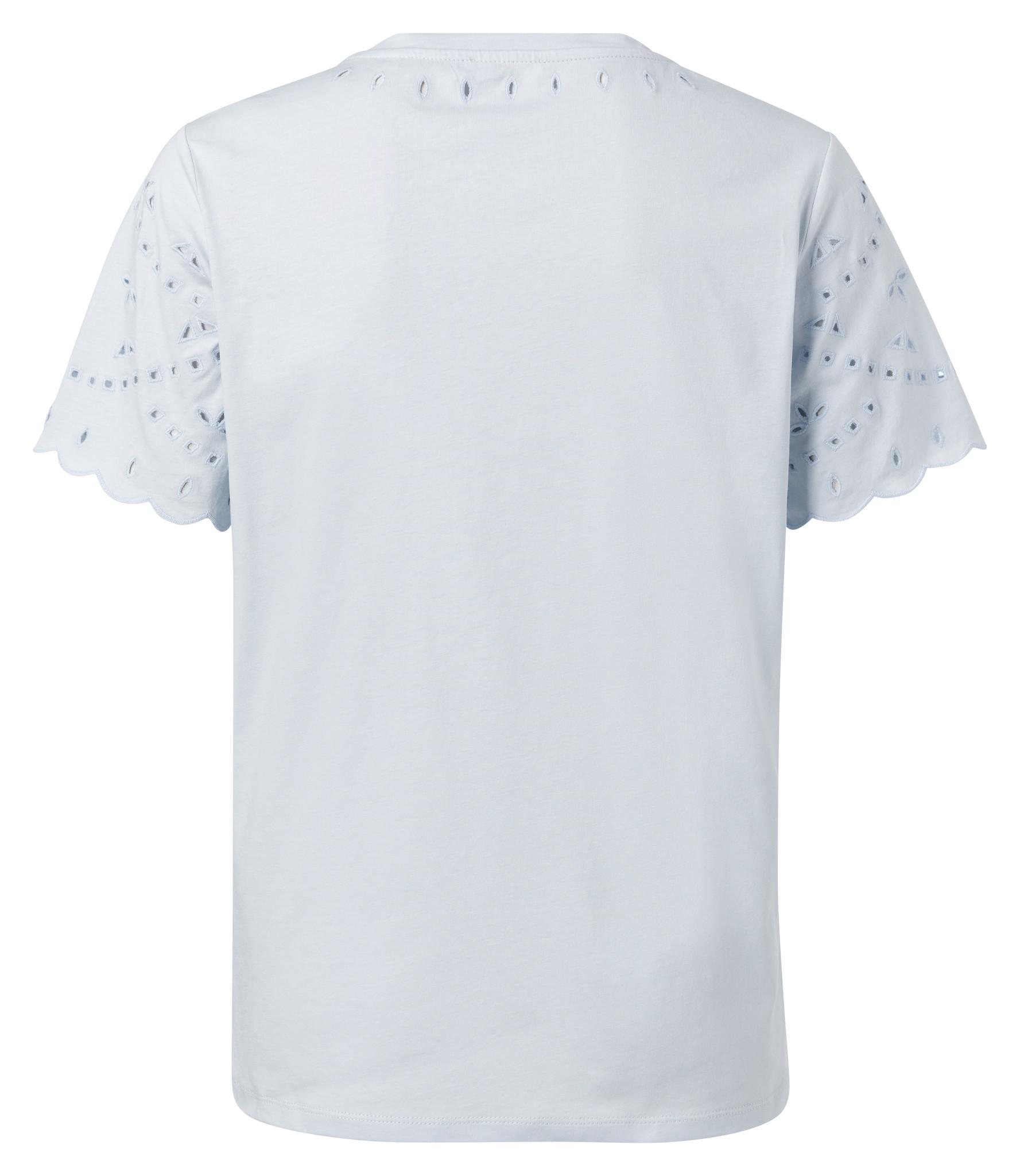 yaya T-shirt with broderi 1919136-014-3