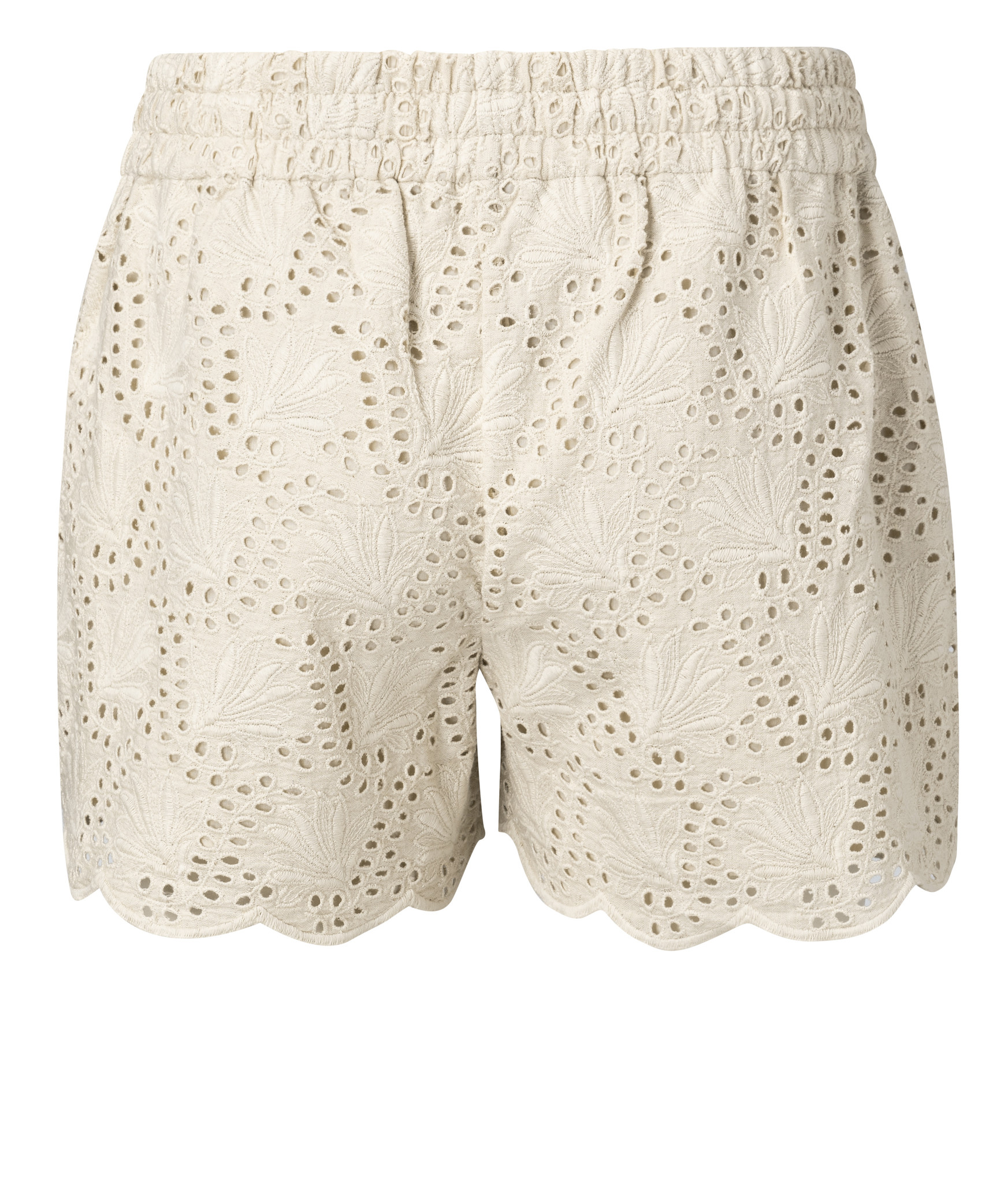 yaya Shorts with broderie 123155-014-2