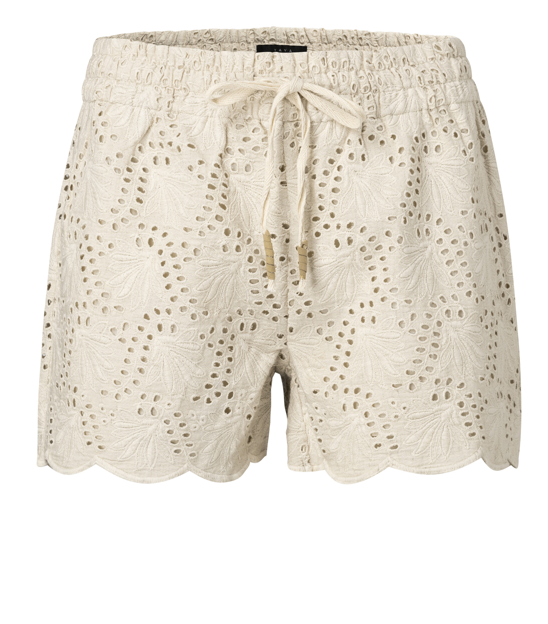 yaya Shorts with broderie 123155-014-1