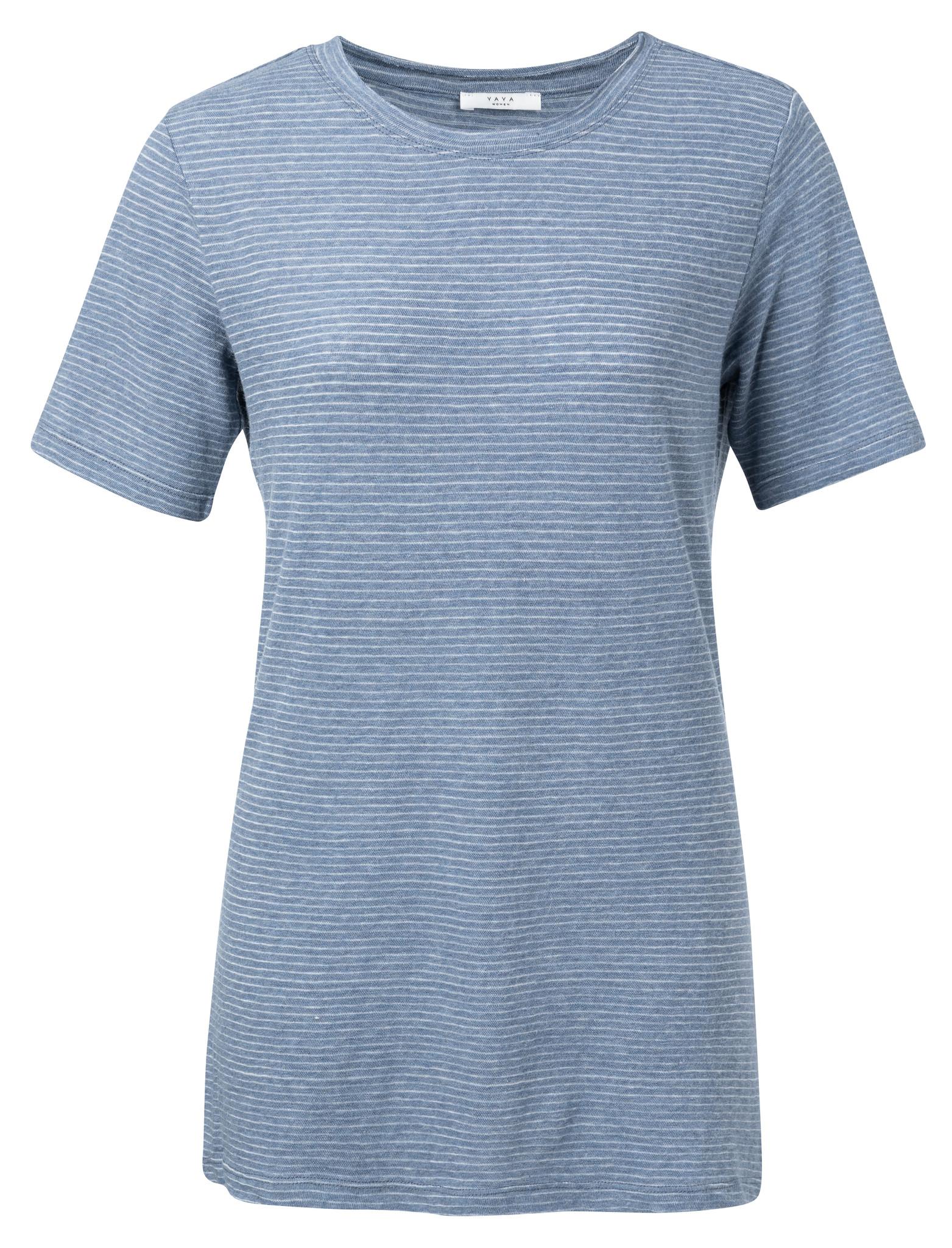 yaya T-shirt with yarn st 1909296-014-1