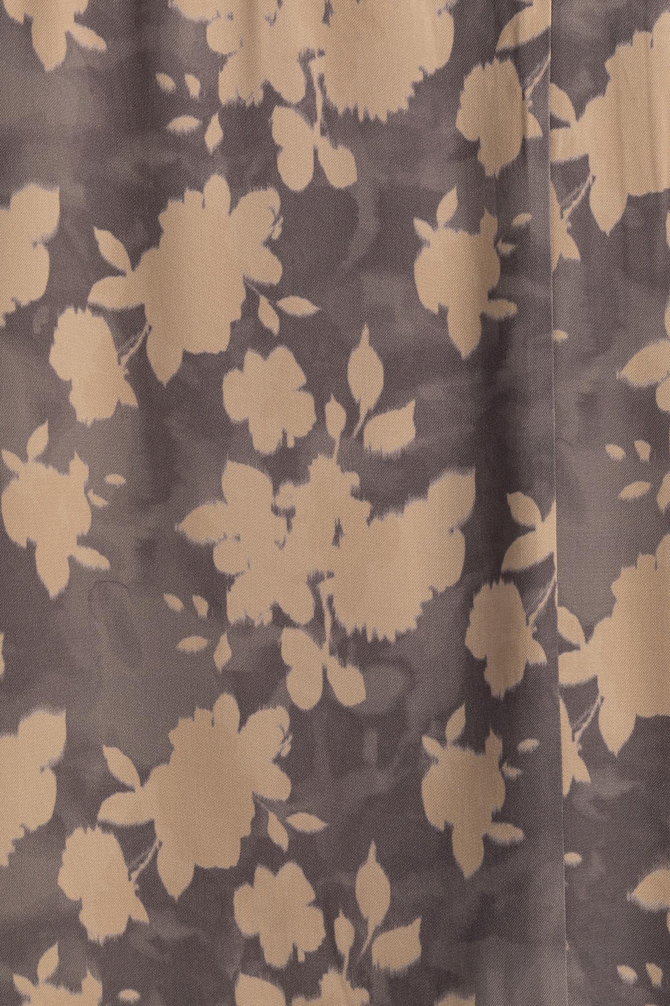 yaya Belted dress with fl 1801222-014-3