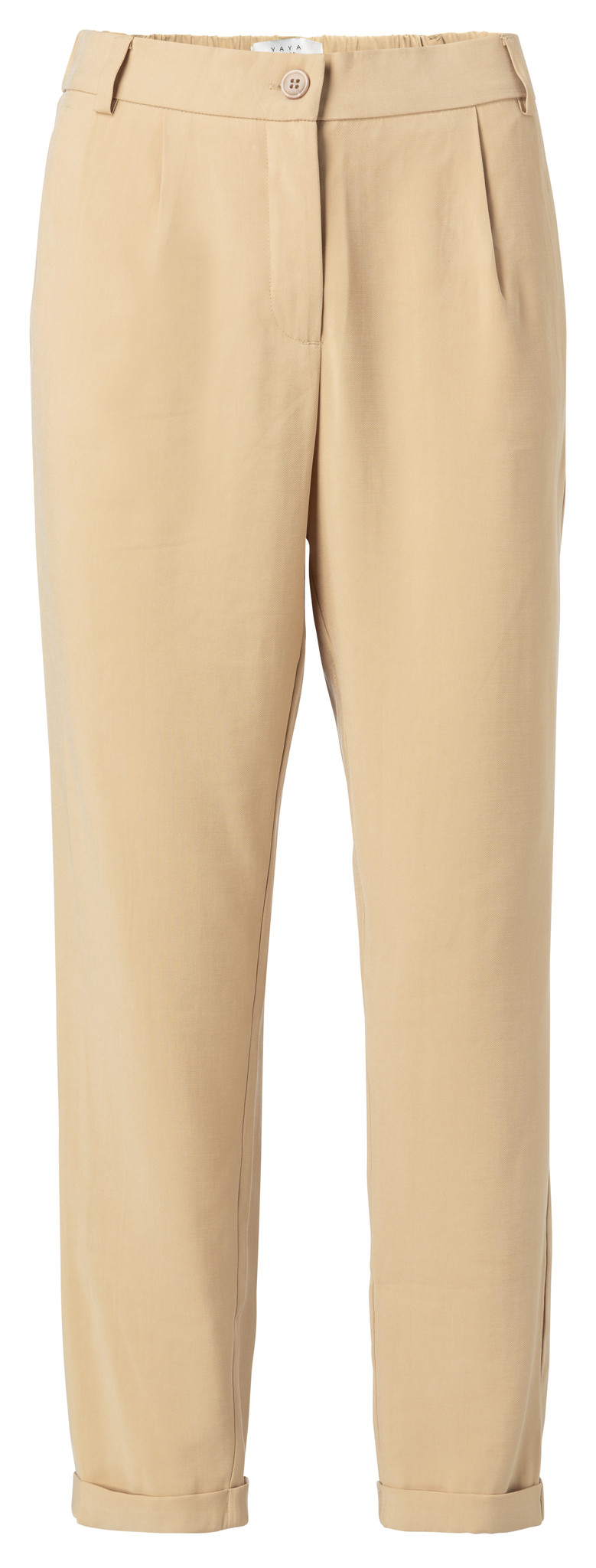 yaya Relaxed fit trousers 121156-014-1