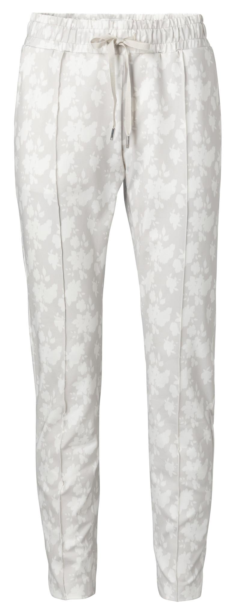 yaya Jogger pants with fl 1209183-014-1