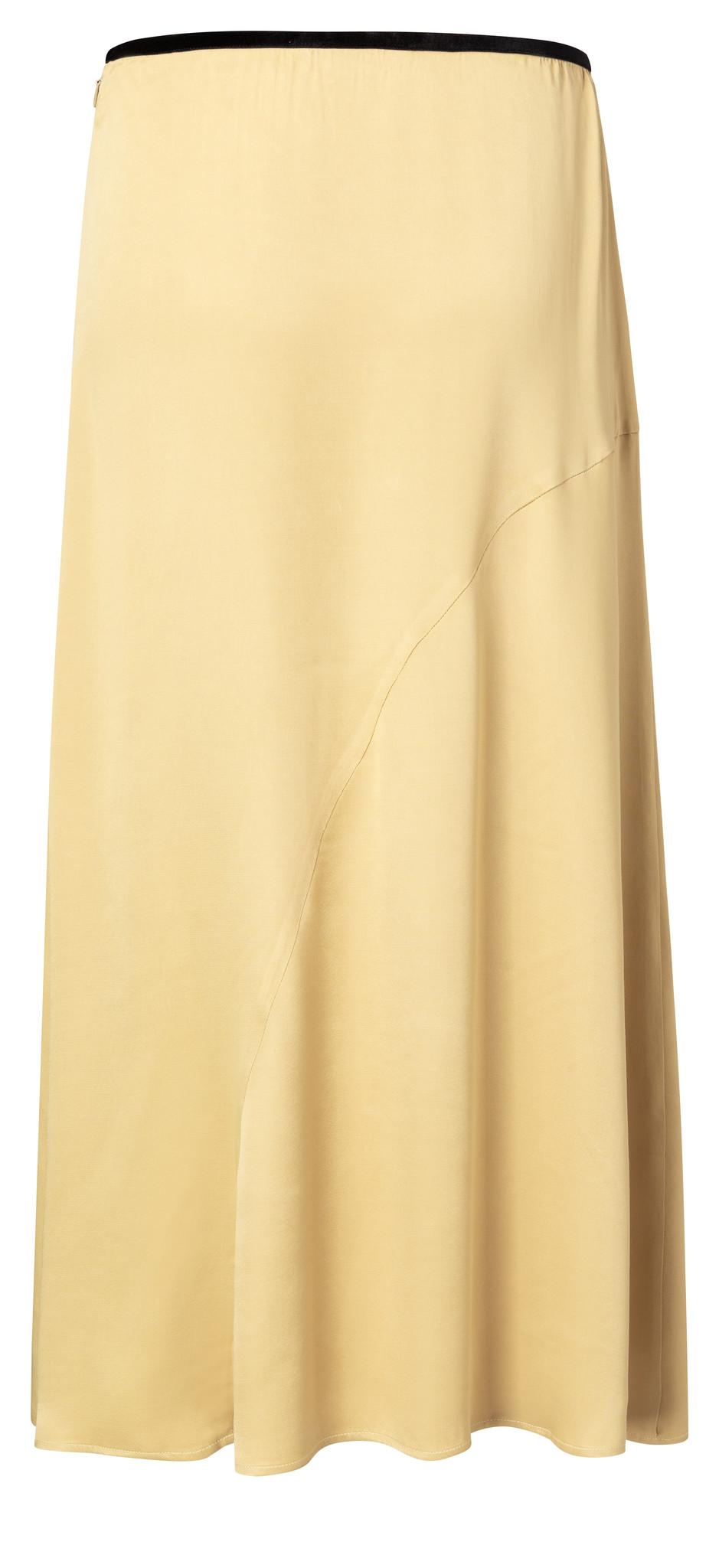 yaya Satin A-line skirt 140183-014-2