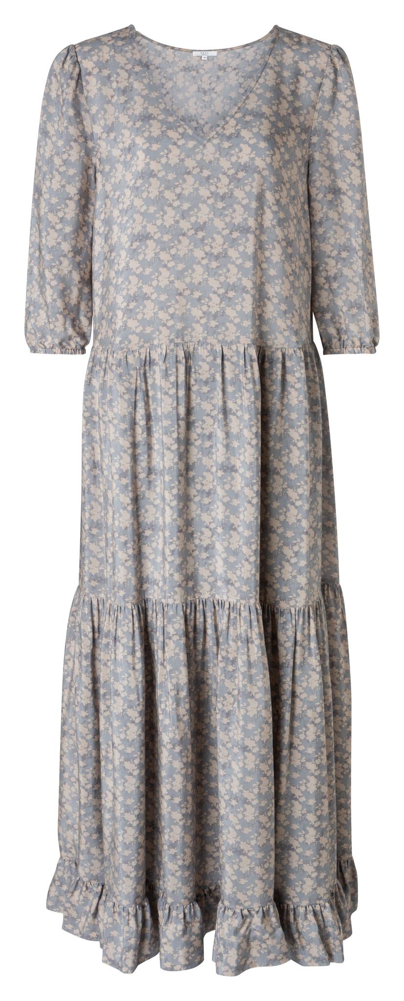 yaya Maxi dress with flor 1801218-014-1