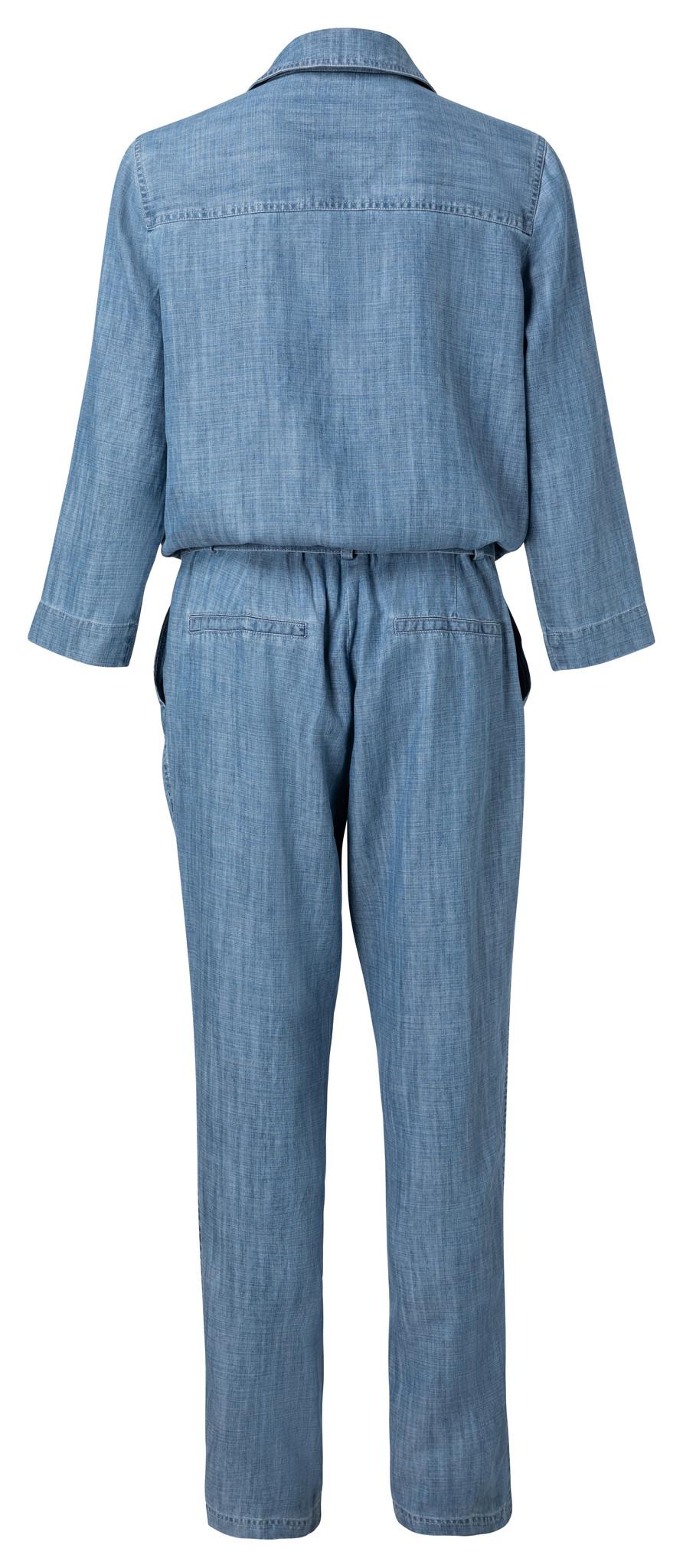 yaya Chambray jumpsuit wi 124122-014-2