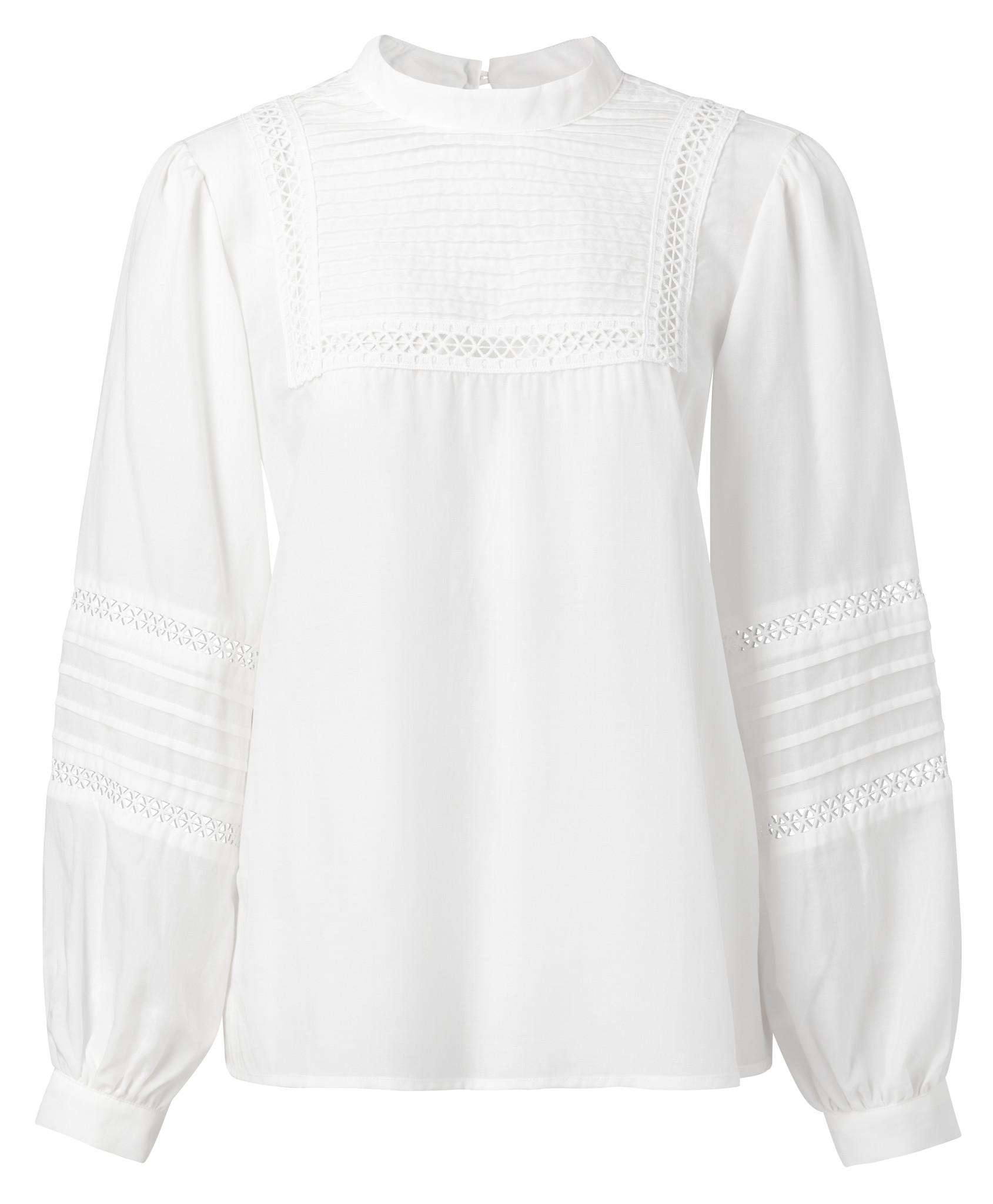 yaya Shirt with embroider 1101160-014-1