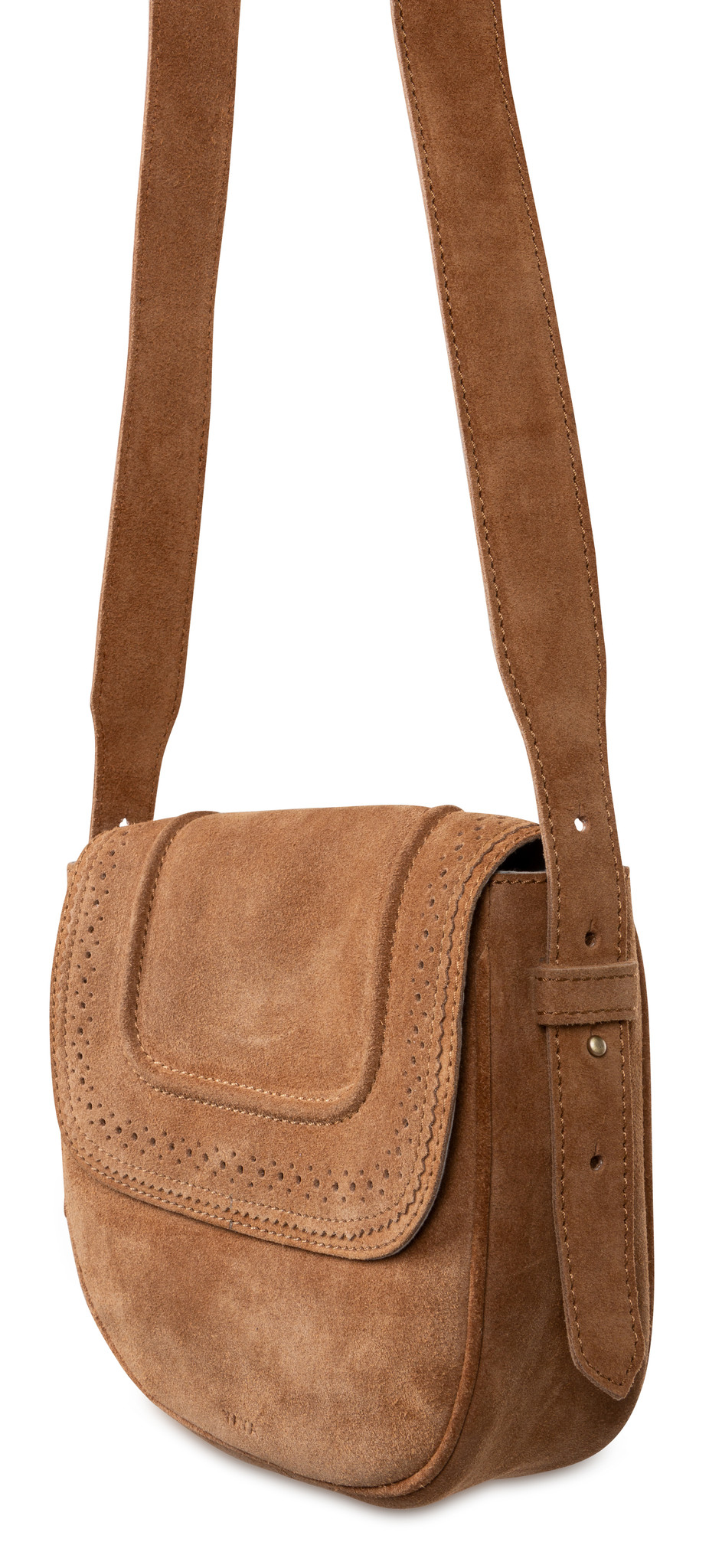 yaya Suede strap bag 131359-014-1