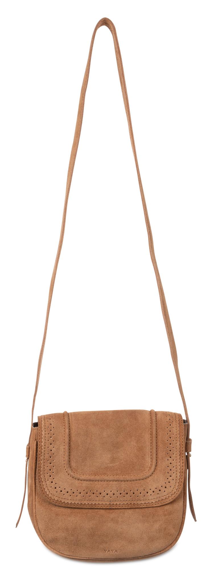 yaya Suede strap bag 131359-014-2