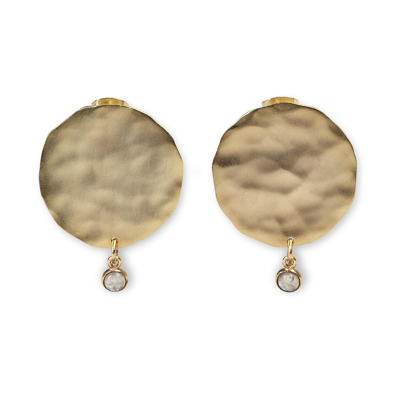 yaya Earrings with coin a 133387-014-1