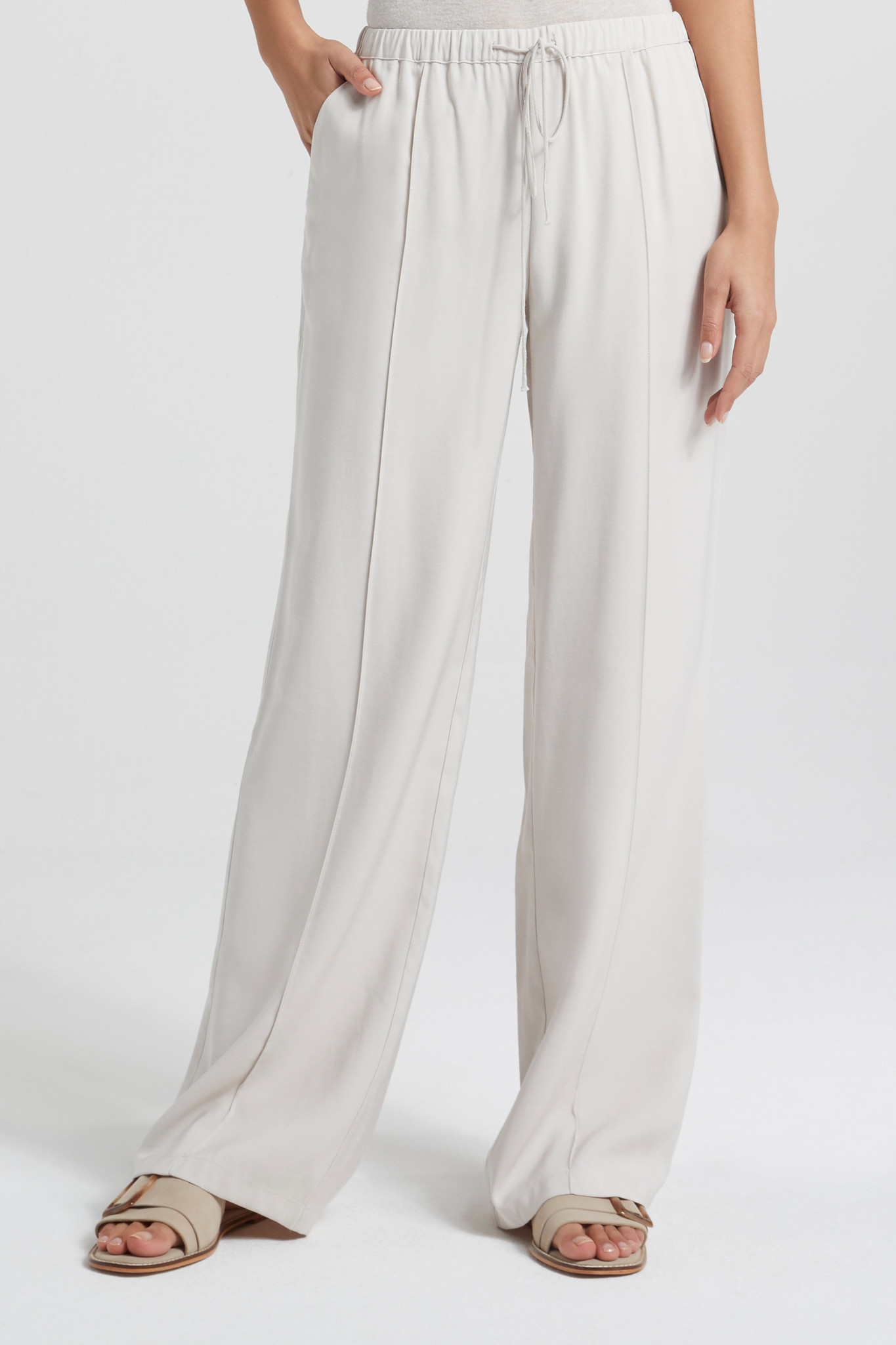 yaya Relaxed fit wide leg 1201182-014-3