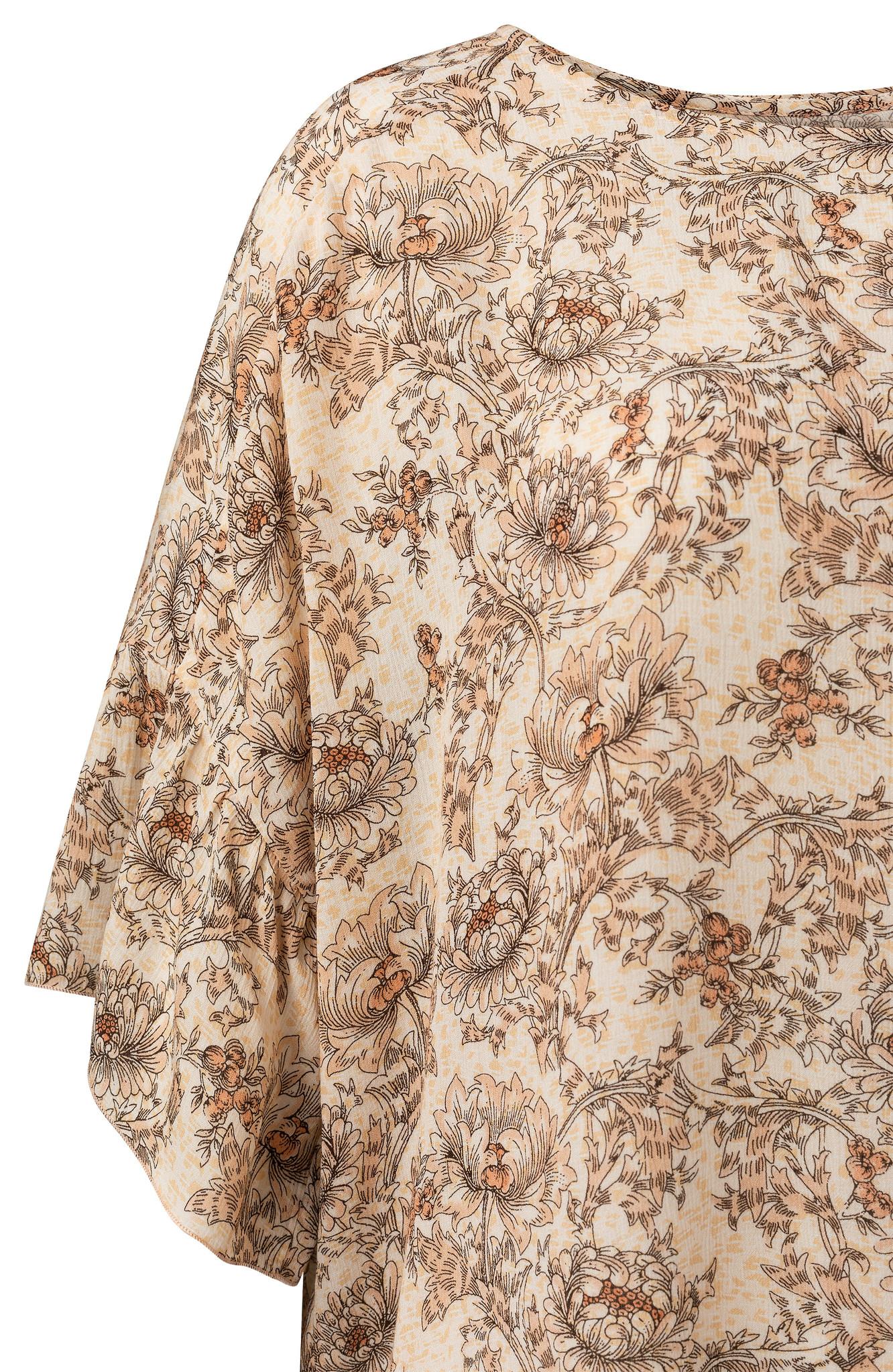 yaya Printed top with ruf 1901441-115-2
