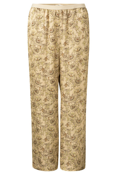 yaya Printed wide leg trouser