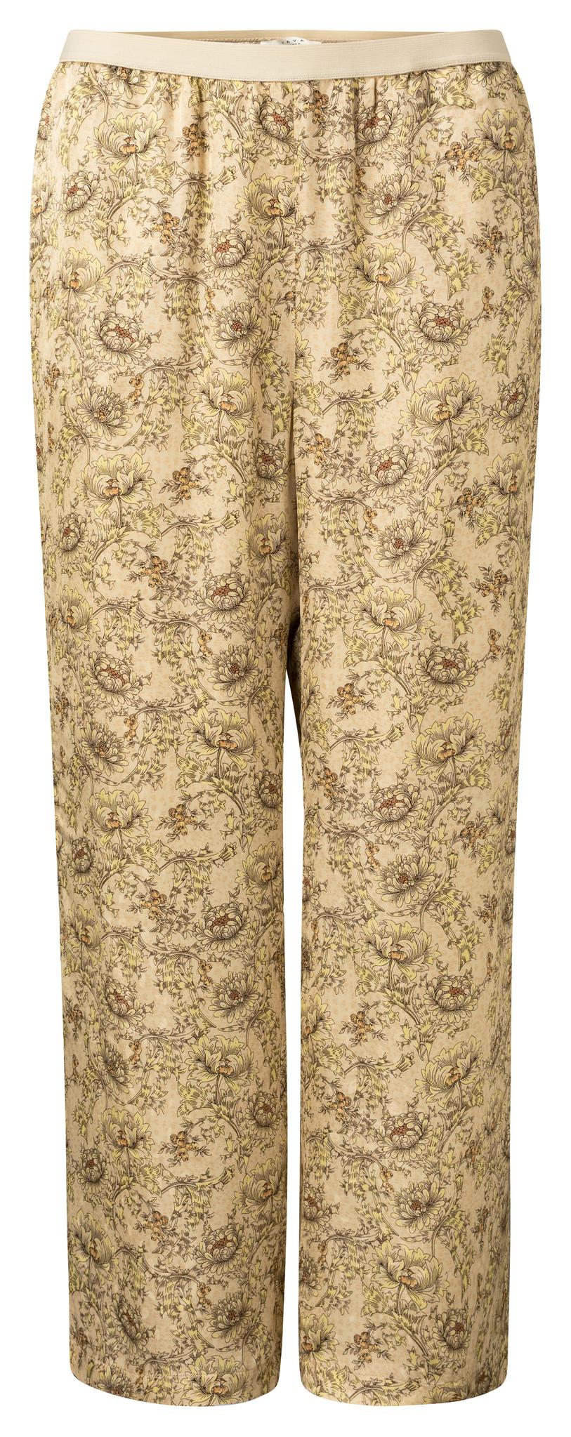 yaya Printed wide leg tro 1201143-115-1