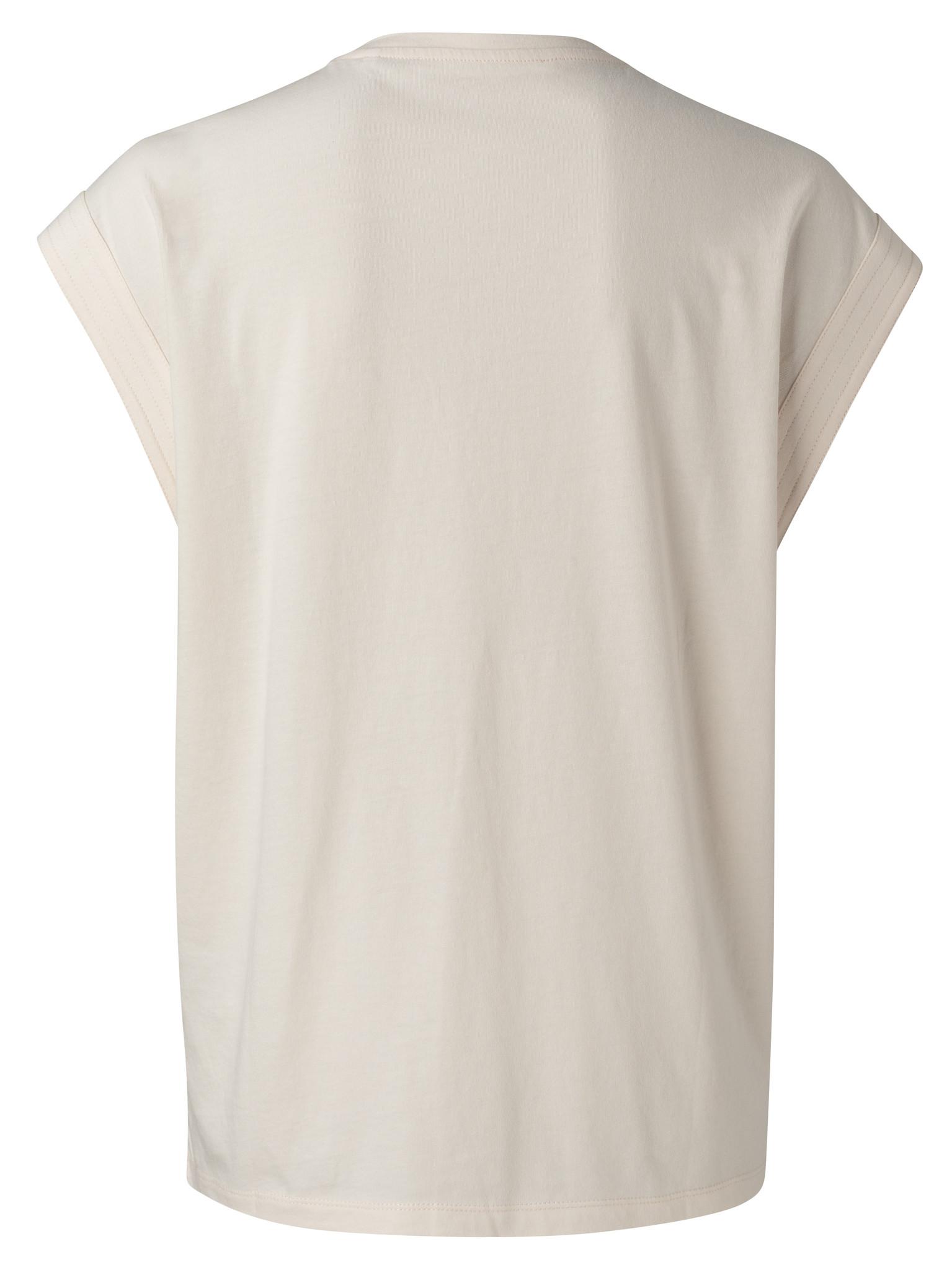 yaya V-neck top with stit 1909423-115-3