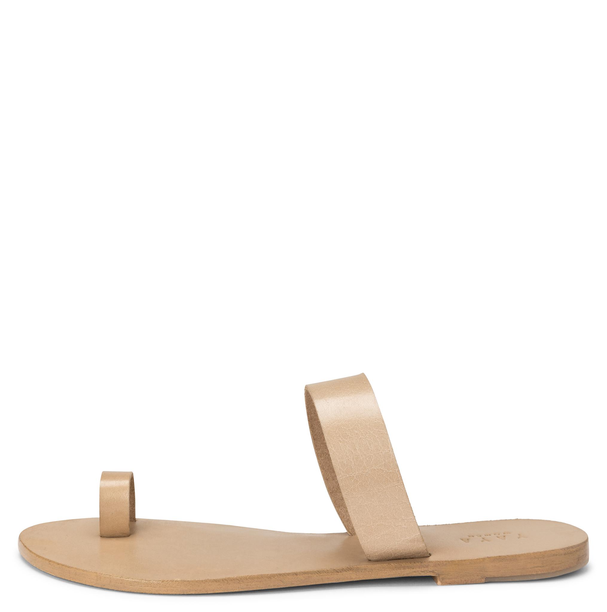 yaya Leather slipper 1343084-115-2