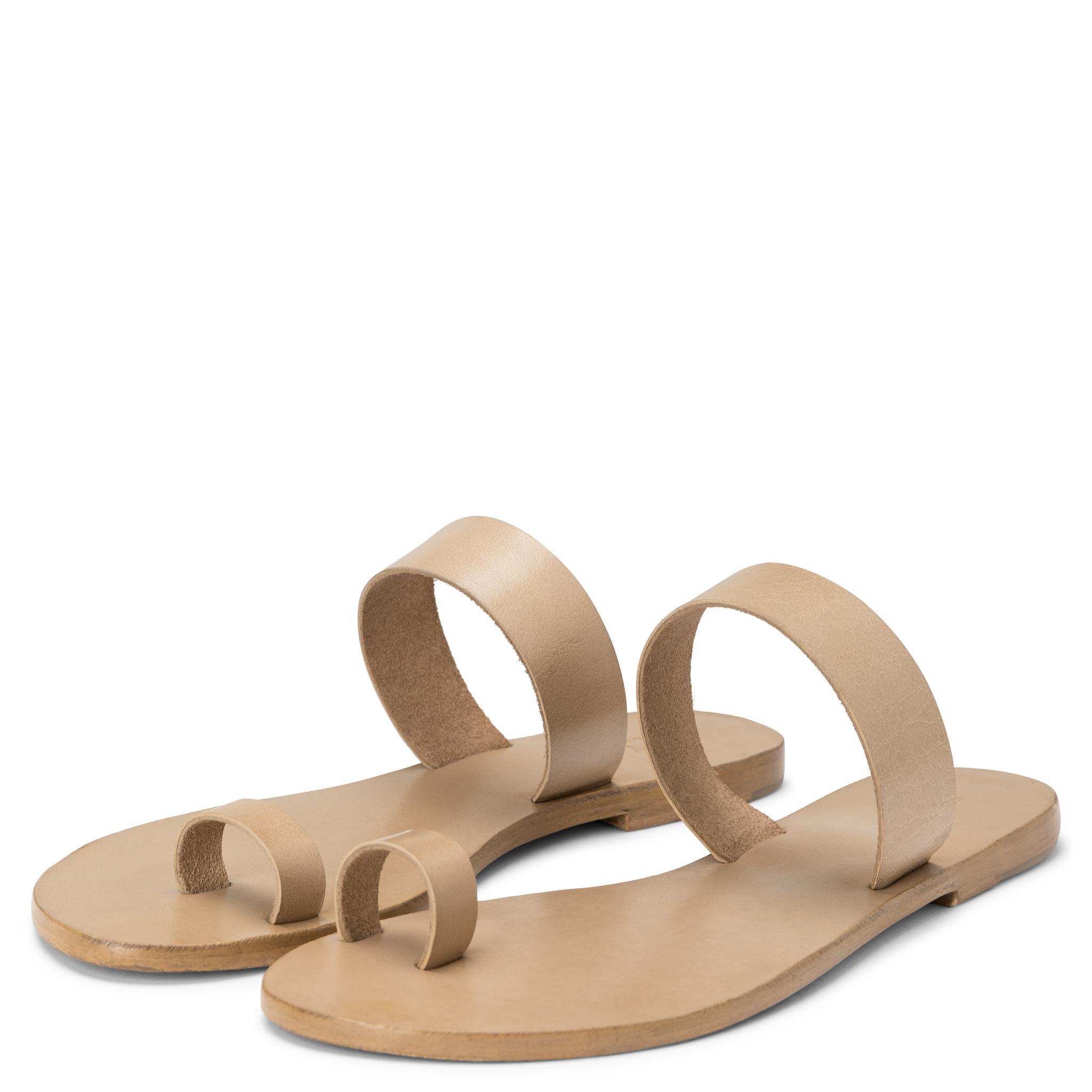 yaya Leather slipper 1343084-115-1