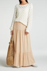 yaya Printed maxi skirt 1401139-115-1
