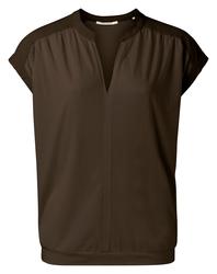 yaya Fabric mix top 1909429-115-1
