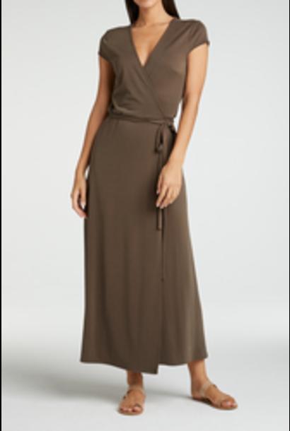 yaya Jersey wrap dress 1809342-115 90812