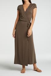 yaya Jersey wrap dress 1809342-115-1