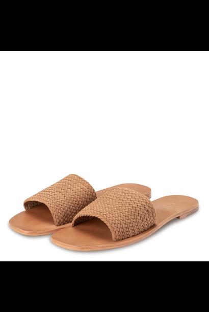 yaya Woven suede slipper 1343082-115 51231