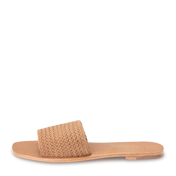yaya Woven suede slipper 1343082-115-2