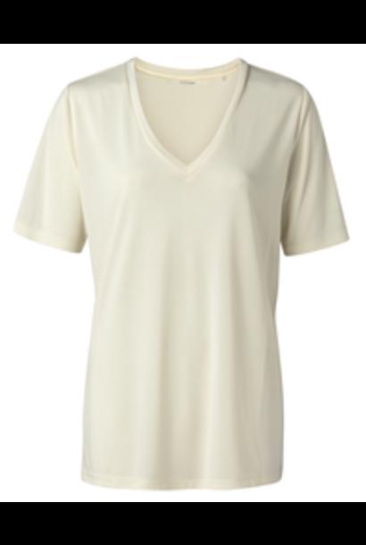 yaya Modal v-neck t-shirt 1919121-115 10106