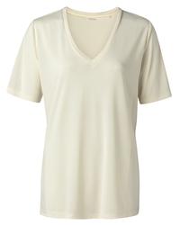 yaya Modal v-neck t-shirt 1919121-115-1