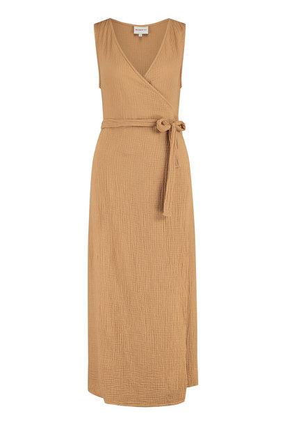 Penn & Ink Dress S21T598LTD Cashew