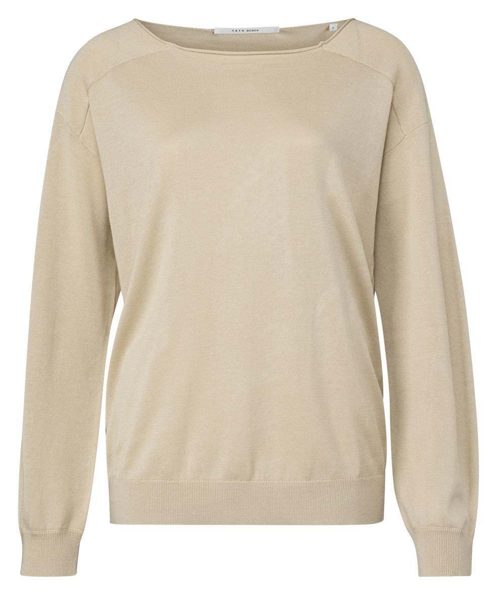 yaya Linen blend sweater 1000451-120-1