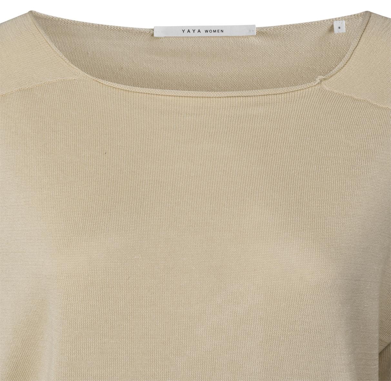 yaya Linen blend sweater 1000451-120-3
