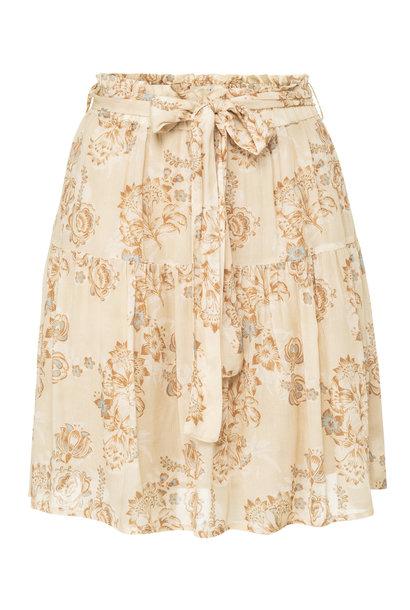yaya printed mini skirt 1401143-120 311051