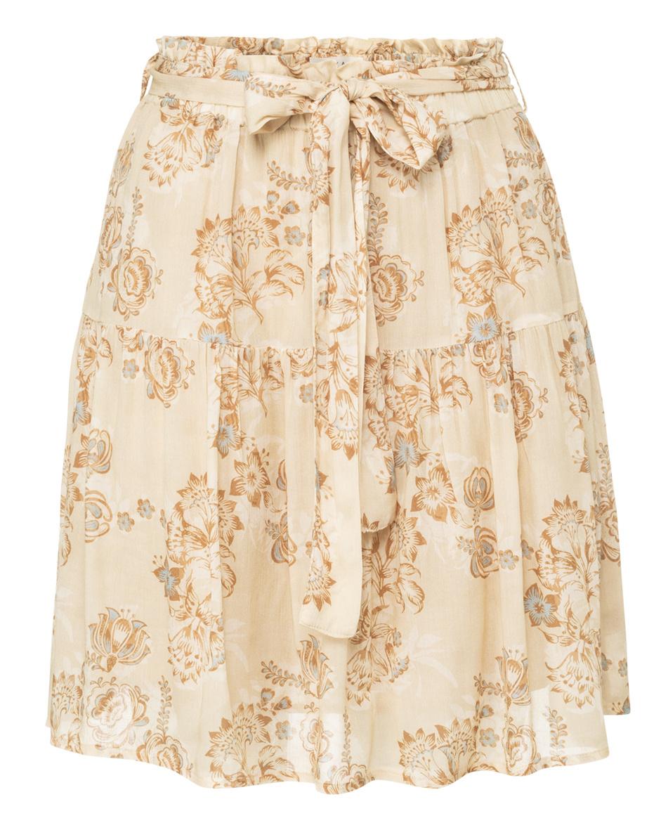 yaya printed mini skirt 1401143-120-1