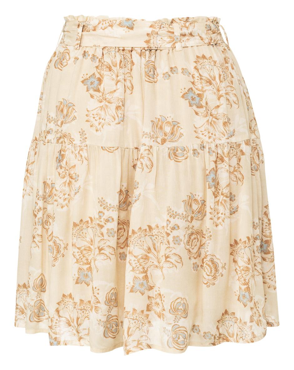 yaya printed mini skirt 1401143-120-2