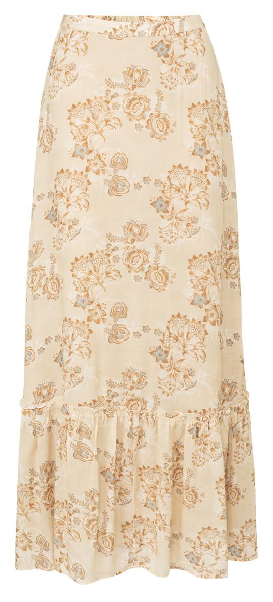 yaya Printed maxi skirt 1401142-120-1