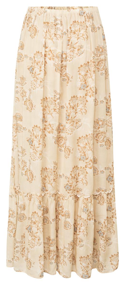 yaya Printed maxi skirt 1401142-120-2